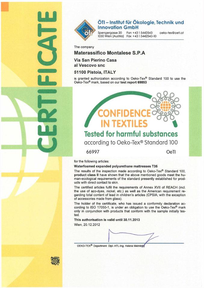 certifikát